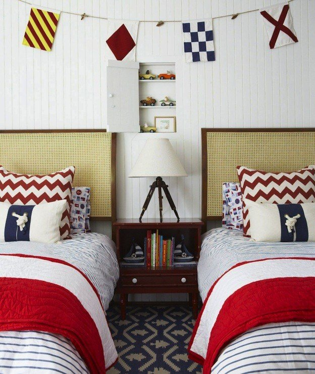 Best Nautical Boys Room Cottage Boy S Room Anne Hepfer With Pictures