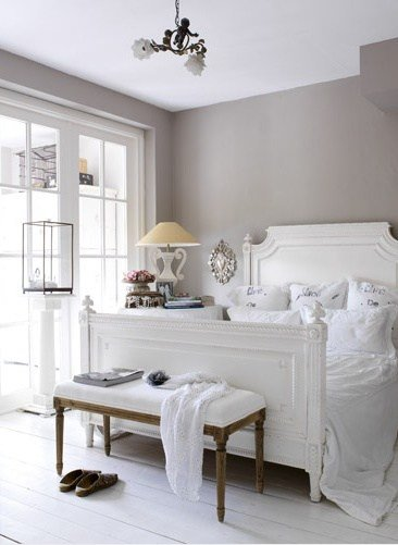 Best Gray And White Bedroom Transitional Bedroom Esther With Pictures