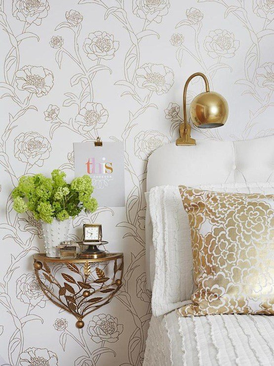 Best White And Gold Bedroom Eclectic Bedroom Society Social With Pictures