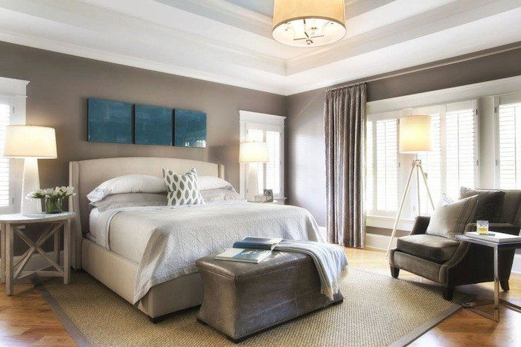 Best Tray Ceiling Bedroom Transitional Bedroom Tri Traci With Pictures