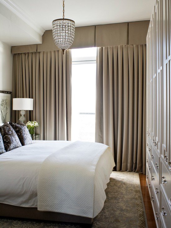 Best Valance Curtains Transitional Bedroom Kimberley Seldon Design Group With Pictures
