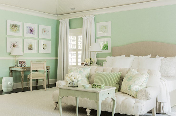 Best Mint Green Bedrooms Cottage Bedroom Brookes And Hill With Pictures