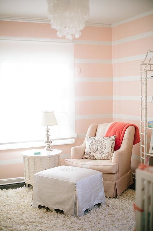 Best Striped Nursery Accent Wall Design Ideas With Pictures