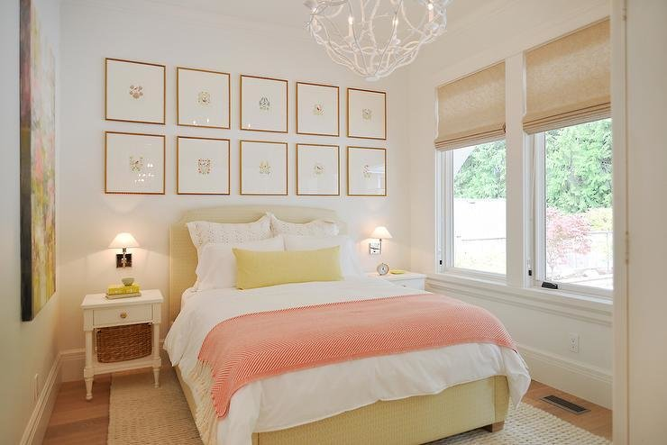 Best Pink And Yellow Bedrooms Cottage Bedroom With Pictures