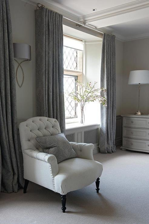 Best Dark Gray Bedroom Curtains Design Ideas With Pictures