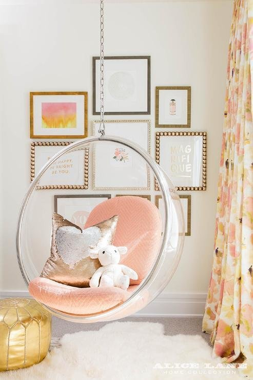 Best Girls Room With White Hanging Chairs Contemporary Girl With Pictures