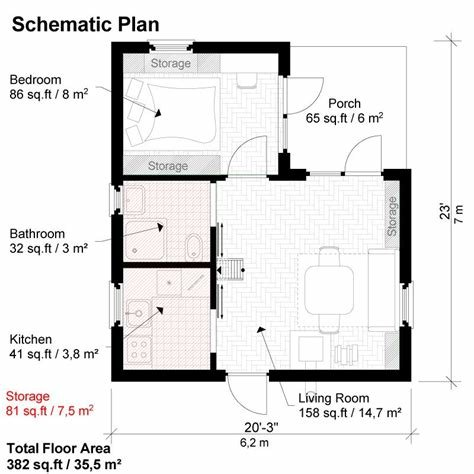 Best One Bedroom House Plans Peggy With Pictures