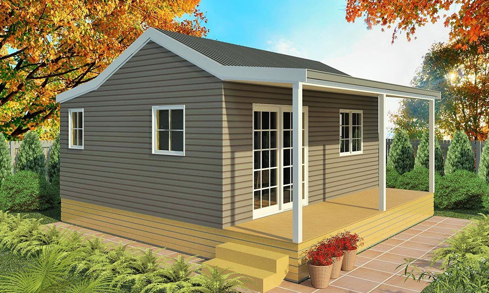 Best Genius 1 Bedroom Homes Prefabricated Cabins With Pictures