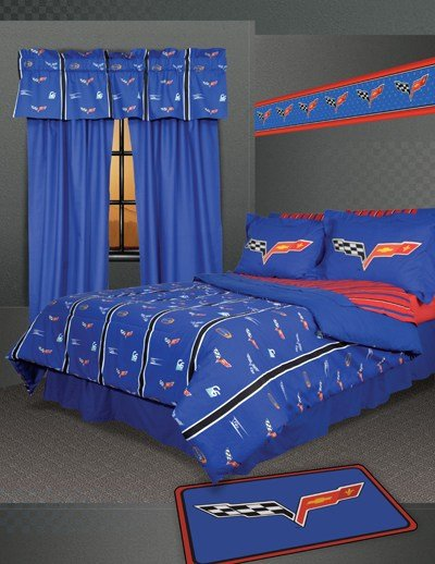 Best Cool Corvette Themed Bedding Sets Cozybeddingsets With Pictures