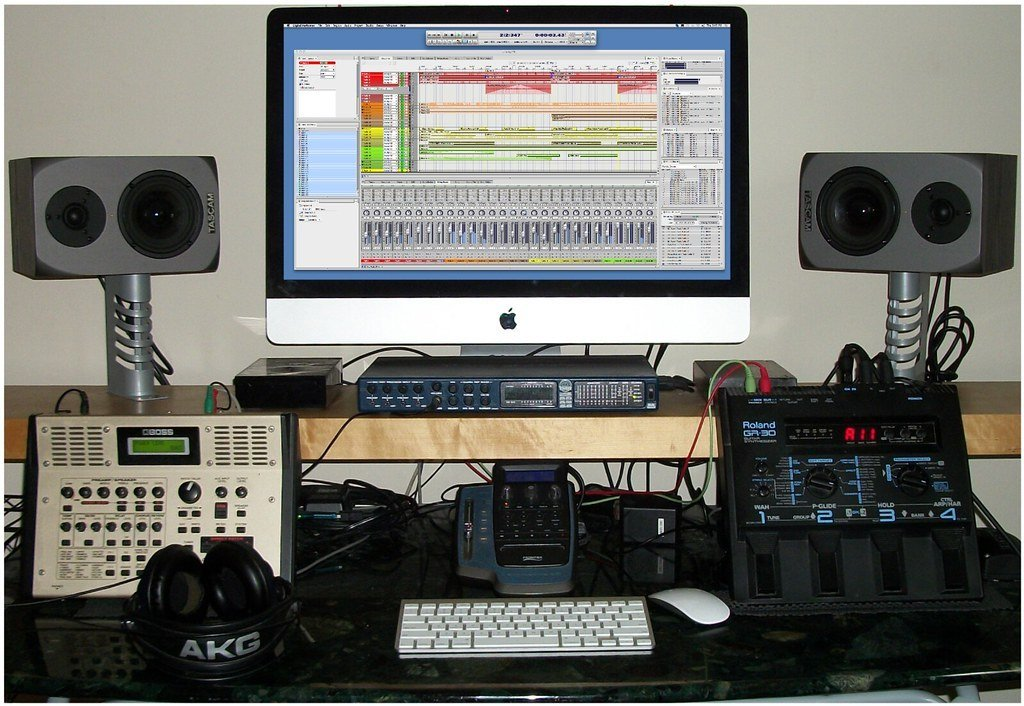 Best Bedroom Recording Desk Home Recording Equipment My With Pictures