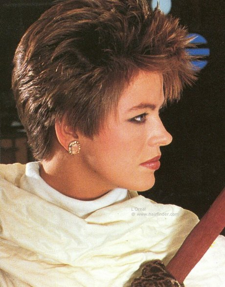 Free 80S Short Hairstyles For Women Wallpaper