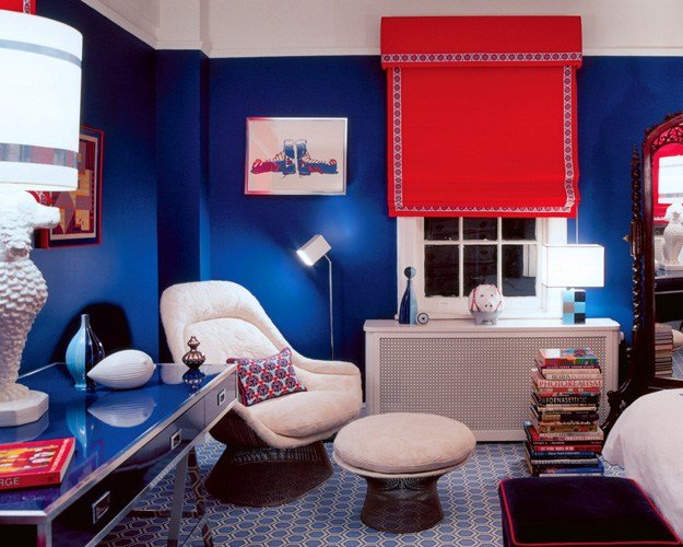Best Inspiration Navy Red And White Kids Spaces Kate With Pictures