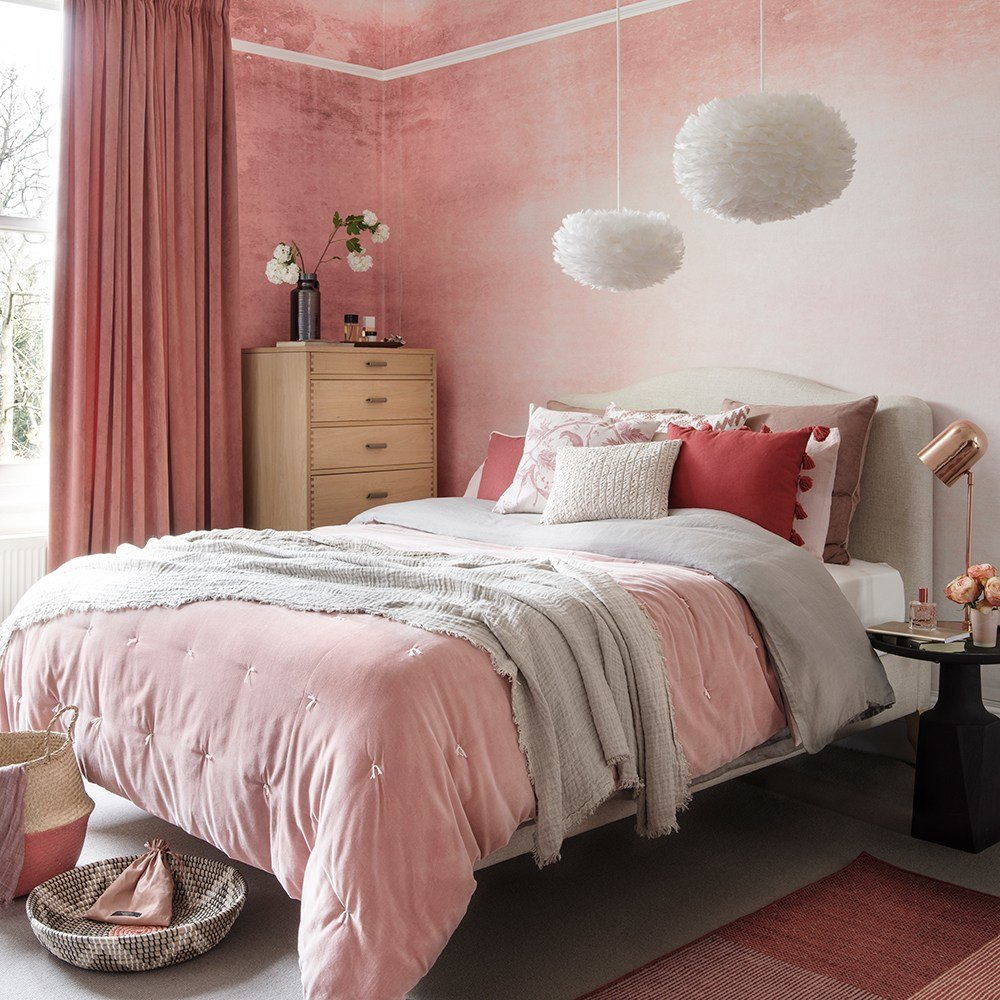 Best Pink Bedroom Ideas That Can Be Pretty And Peaceful Or With Pictures