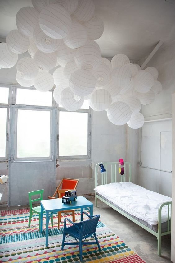 Best Paper Lanterns Cloud Ceiling And White Paper Lanterns On With Pictures