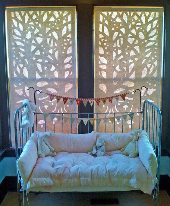 Best Winter Windows Pattern Paper Template For Diy Window With Pictures