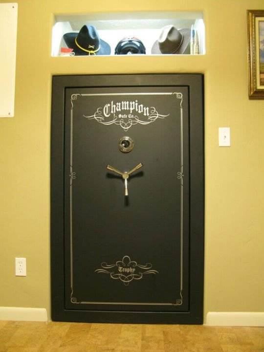 Best From Closet To Built In Gun Safe I Want Need Must Have With Pictures