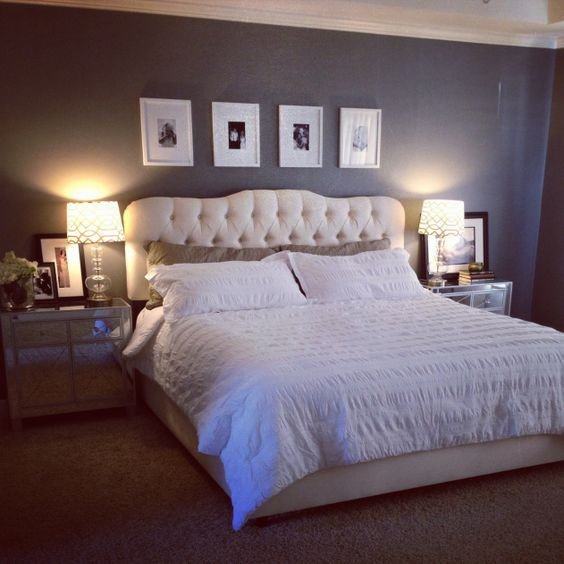 Best Master Bedroom Makeover Joss And Main Bed And Headboard With Pictures