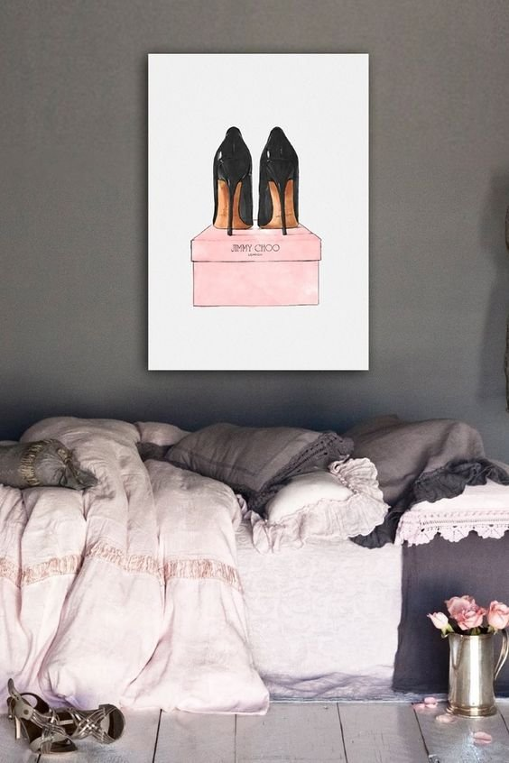Best Oliver Girls Night Out Stiletto Canvas Art Jimmy Choo Glamour Pinterest Oliver Gal With Pictures