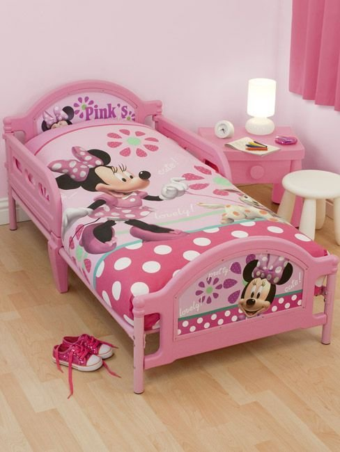 Best Minnie Mouse Toddler Bedding Set Minnie Mouse Pretty Junior Girls Bedroom Ideas Pinterest With Pictures