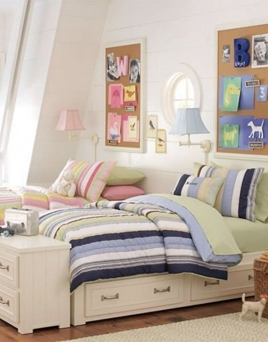 Best 12 Blue And Pink Shared Kids' Rooms Kidsomania Boy With Pictures