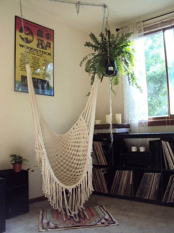 Best Macrame Chair I Need A Hanging Chair For My Bedroom Projects Diy Pinterest Macrame With Pictures