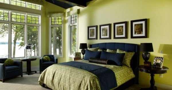 Best Bedroom Photos Navy Blue And Lime Green Bedrooms Design With Pictures