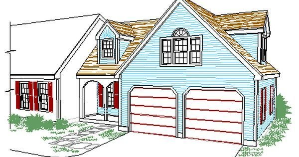 Best Cape Style Garage And Entry Addition With Master Br Suite Over Addition Pinterest Cape With Pictures