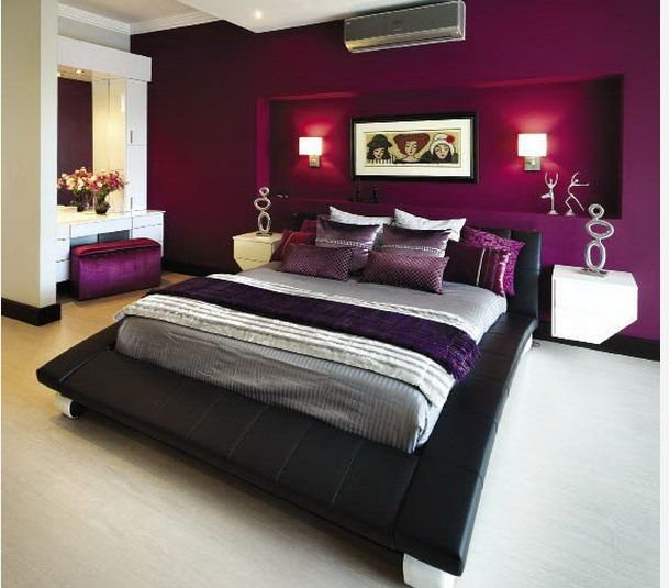 Best 1000 Ideas About Purple Bedroom Walls On Pinterest Deep With Pictures