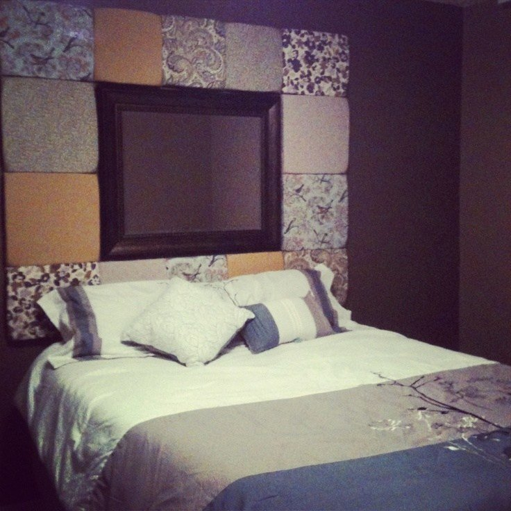 Best My Homemade Headboard Diy Pinterest Master With Pictures