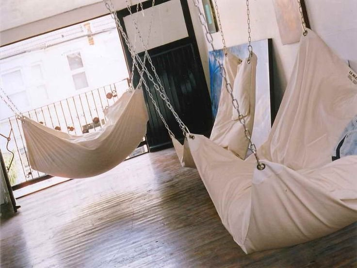 Best How To Make Diy Le Beanock Indoor Hammock Awesome Everywhere I Wan Hammocks Everywhere With Pictures