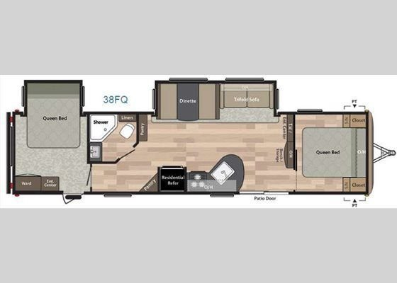 Best New Keystone Rv Springdale 38Fq Travel Trailer For Sale With Pictures