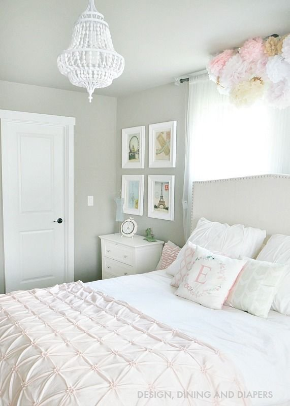 Best 20 White Girls Rooms Ideas On Pinterest T**N Bedroom Makeover Gold Accent Decor And With Pictures