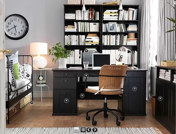 Best 17 Best Ideas About Bedroom Office Combo On Pinterest Murphy Bed Office Office Room Ideas And With Pictures