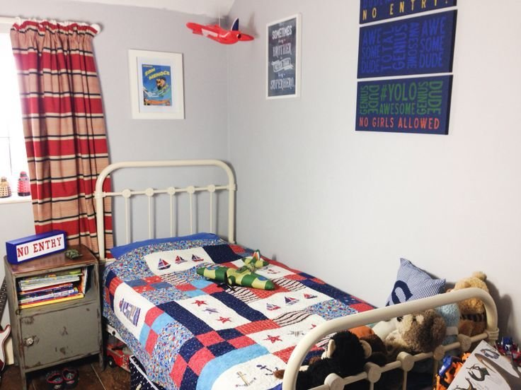 Best Vintage Shabby Chic Boys Bedroom 1950 S Boys Room With Pictures