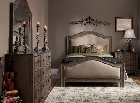 Best Cobblestone 4 Pc King Bedroom Set Bedroom Sets With Pictures