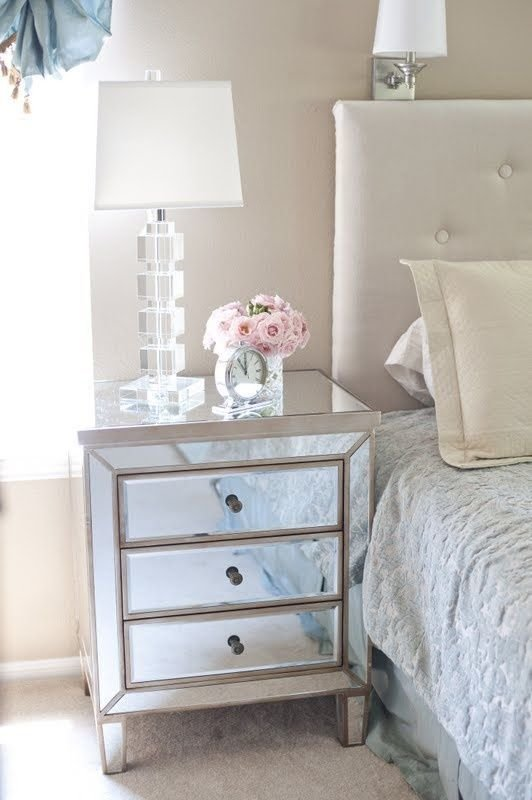 Best 25 Best Ideas About Mirrored Nightstand On Pinterest With Pictures