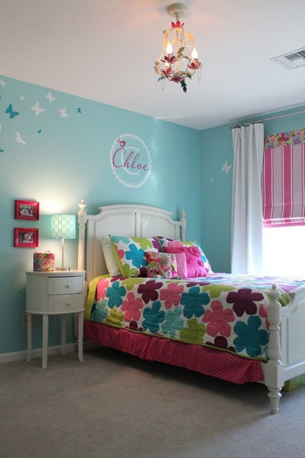 Best Girl Bedroom Color Schemes Blue Girls Bedroom Color With Pictures