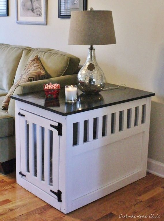 Best 25 Dog Crate Table Ideas On Pinterest Dog Crate With Pictures