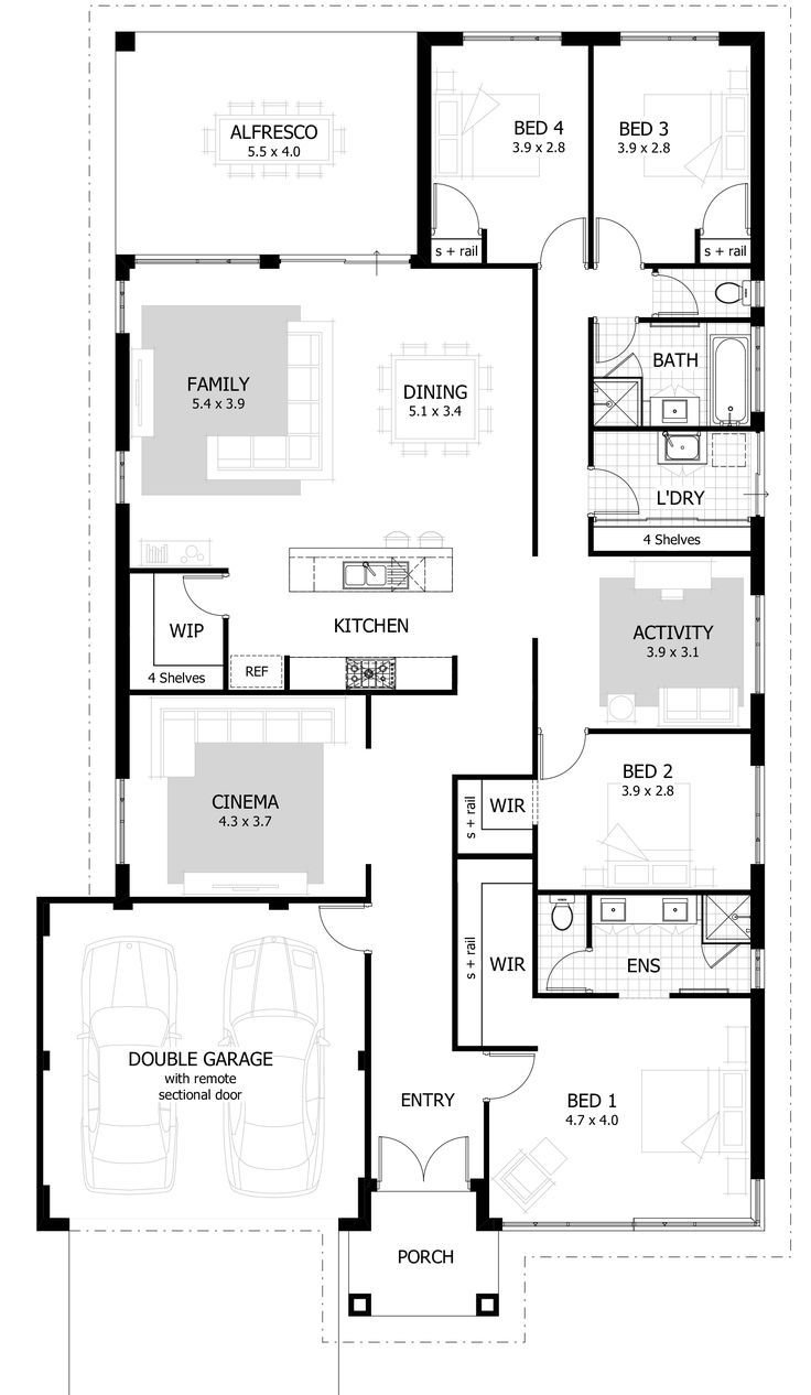Best 25 Best Ideas About 4 Bedroom House On Pinterest 4 With Pictures