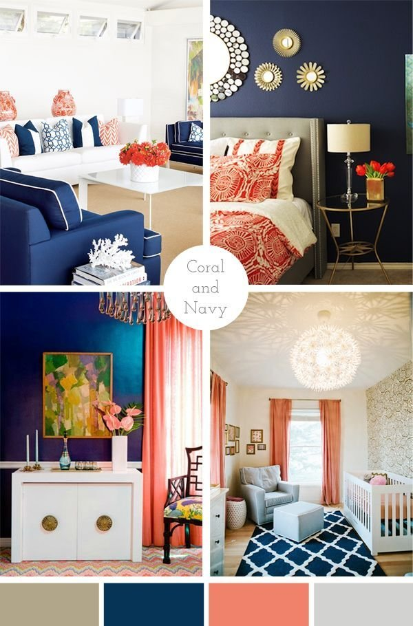 Best 25 Navy Coral Rooms Ideas On Pinterest With Pictures
