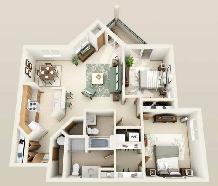 Best 812 Best Images About Plantas 3D Arquitetura On Pinterest With Pictures
