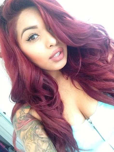 Free 43 Best Images About Burgundy Hair Color 99J On Pinterest Wallpaper