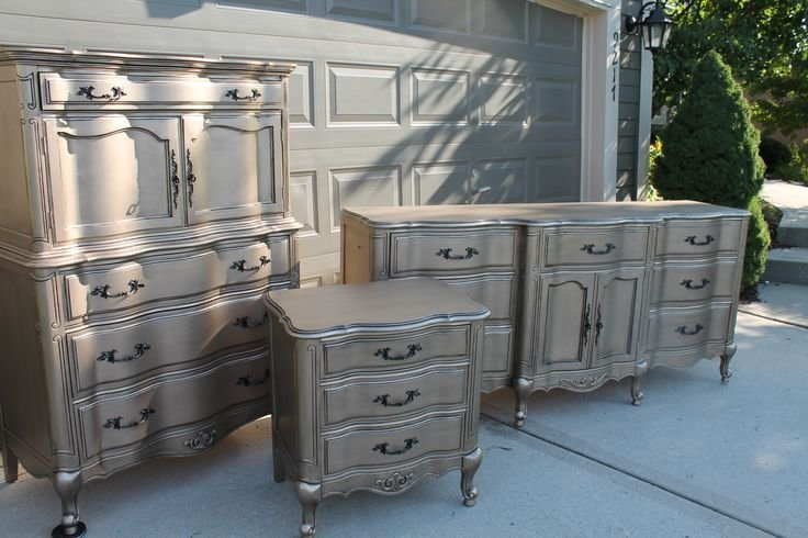 Best Top 25 Ideas About Silver Painted Furniture On Pinterest With Pictures