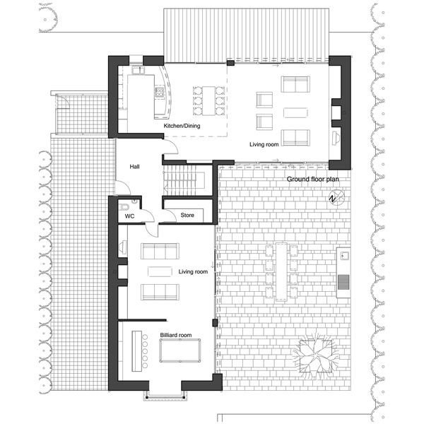 Best L Shape House Plan By Architect Frank Mcgahon House With Pictures