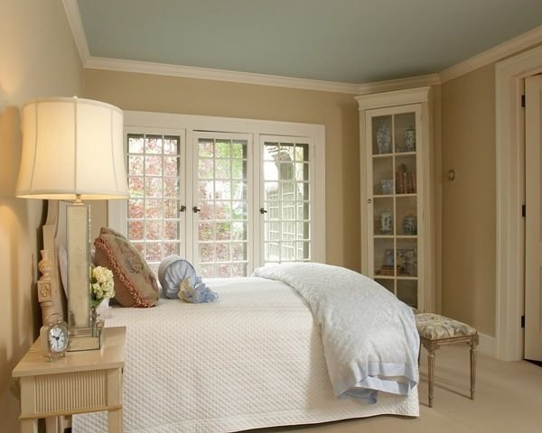 Best Palladian Blue Ceiling Windowpane By Sherwin Williams With Pictures
