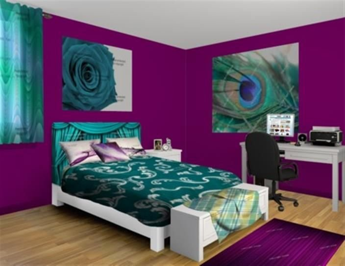 Best 25 Purple Teal Bedroom Ideas On Pinterest Teal Shed Furniture Girls Bedroom Purple And With Pictures
