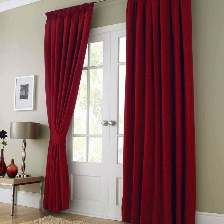 Best Red Curtains For The Bedroom For The Home Pinterest With Pictures