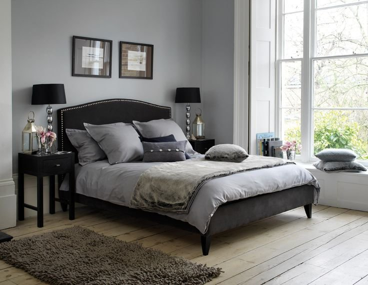 Best 18 Exquisite Grey Themed Bedroom Design Ideas Calm Grey With Pictures