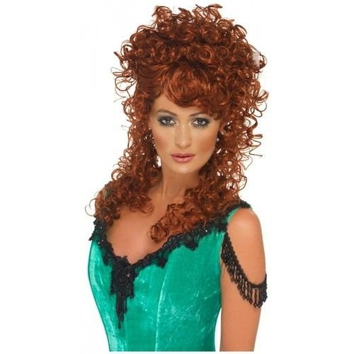 Free Saloon Girl Wig Costume Accessory *D*Lt Womens Halloween Wallpaper