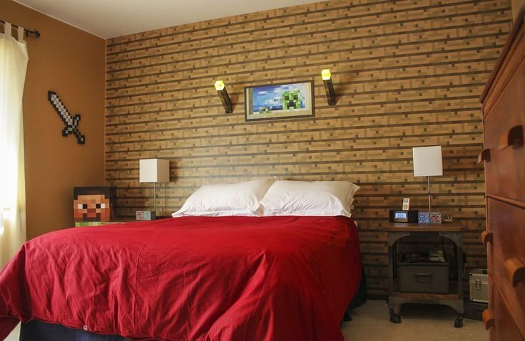 Best Realife Minecraft Room Bedroom Pinterest House With Pictures
